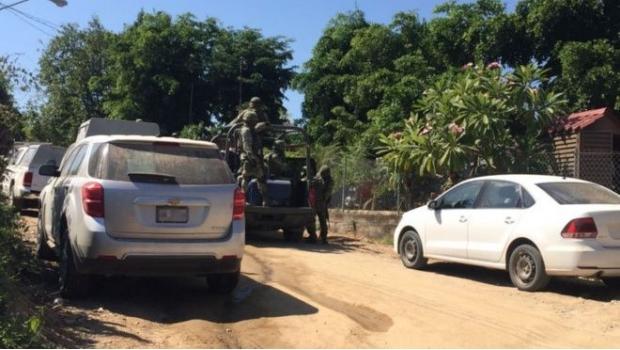 Sitia el Ejército poblado de Culiacán