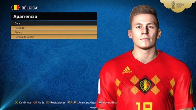 Thorgan Hazard Face PES 2017