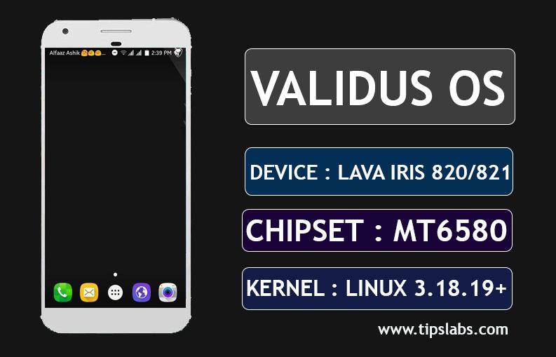 [MT6580] [6.0.1]  Custom Rom For Lava Iris 820