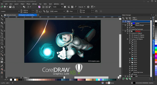 CorelDraw Graphics Suite X8 image 03 | Computer Software