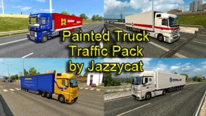 Painted Truck Traffic Pack