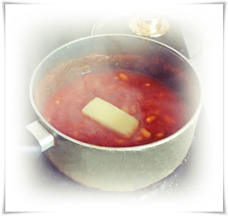 cooking cheese rind in soup to add flavour