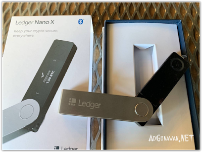 Unboxing Ledger Nano X Indonesia