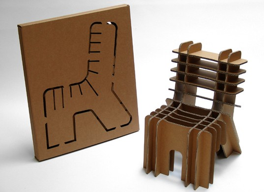 Cardboard Furnitures - Kerala home design and floor plans