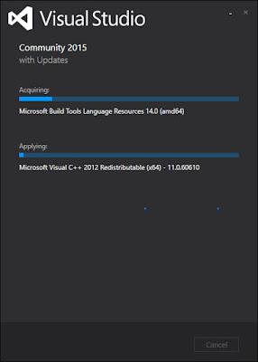 Visual Studioのインストール