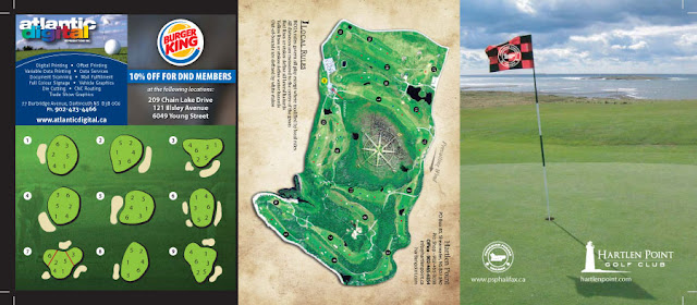 Hartlen Point Forces Golf Club Scorecard