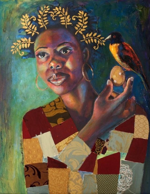 Яркое и жизнерадостное искусство. Tamara Natalie Madden 22