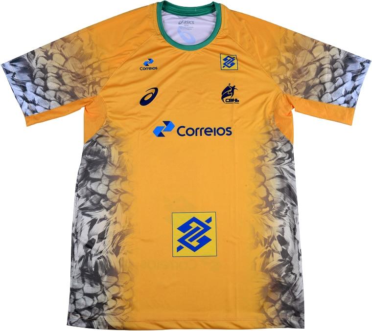 8b677be57e Asics lança as novas camisas da Seleção Brasileira de handball ...