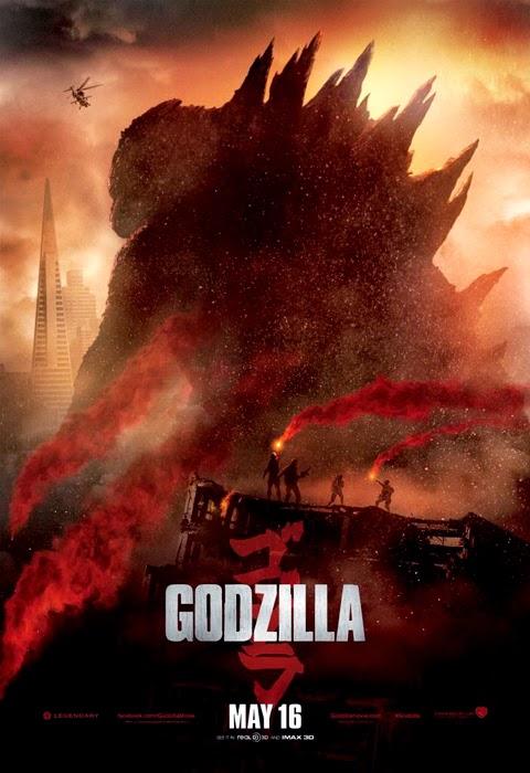 Poster nou pentru filmul Godzilla 2014