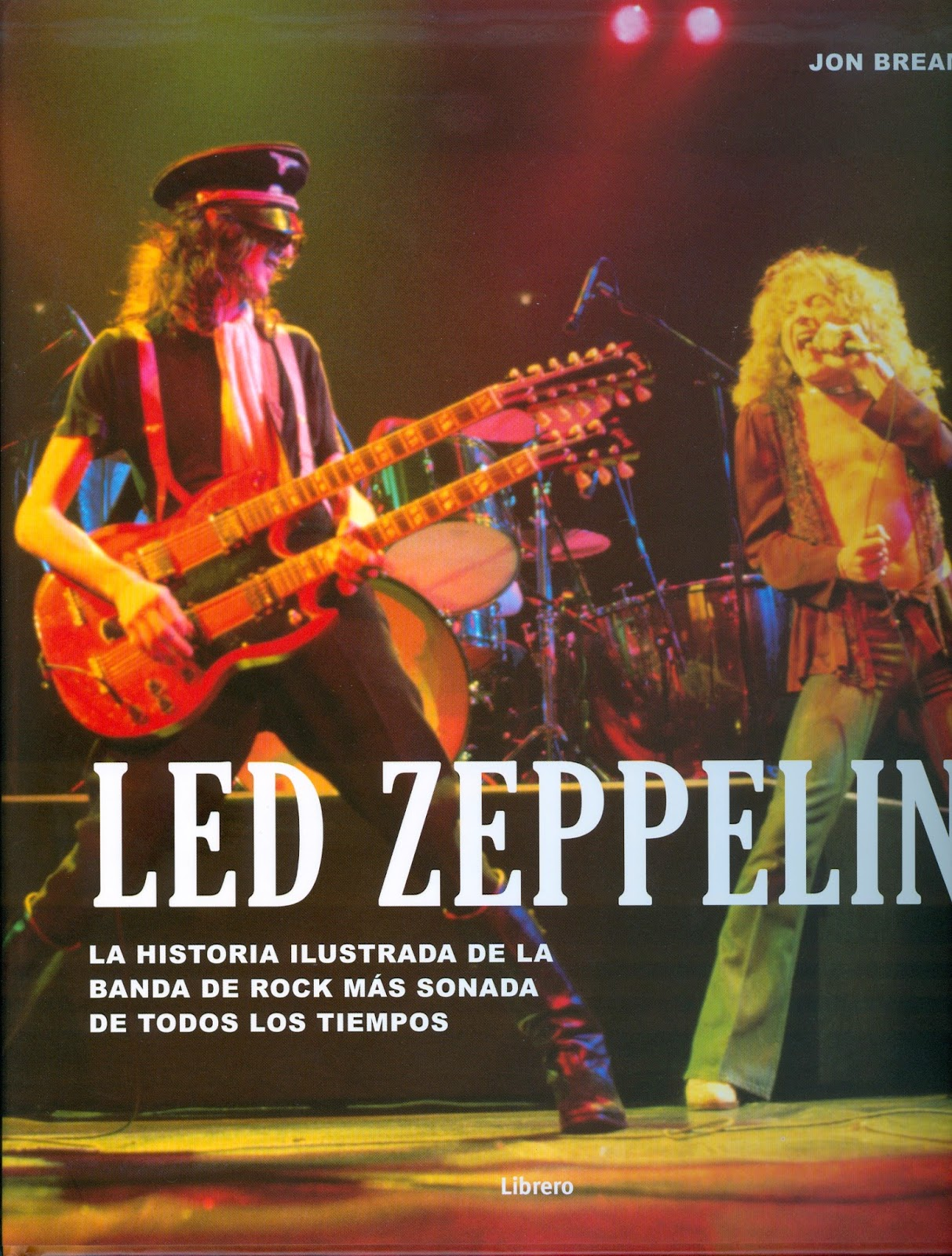 LED ZEPPELIN  LA HISTORIA ILUSTRADA Librero