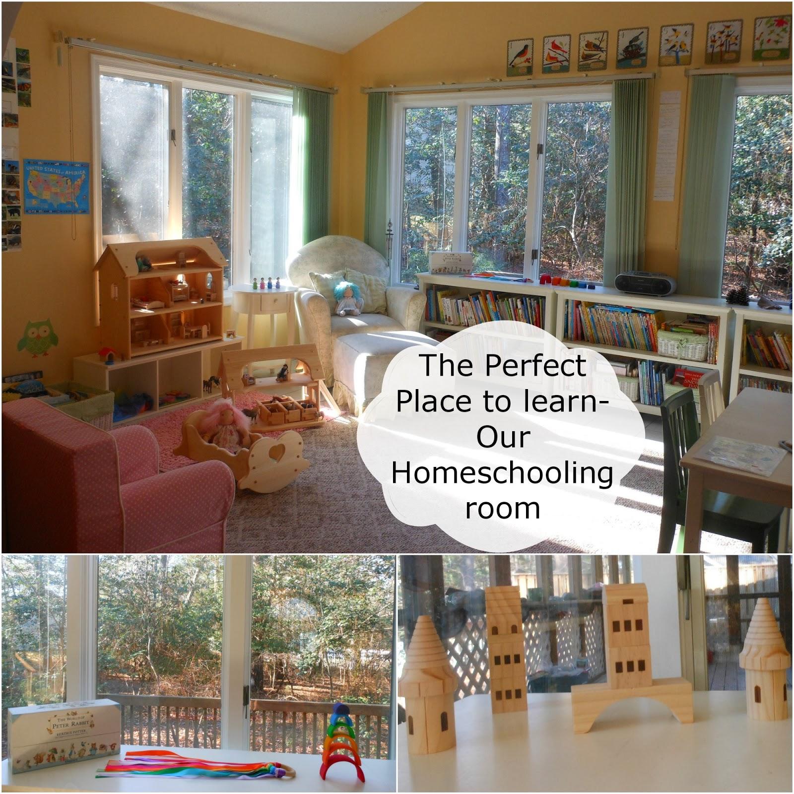 Tour our Montessori Homeschooling Room