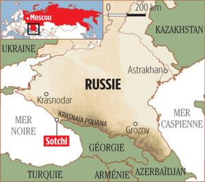 Sotchi est une ville et une station balnéaire du kraï de Krasnodar, en Russie