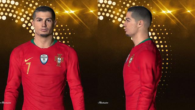 Cristiano Ronaldo Fcae (World Cup 2018 Version) For PES 2017