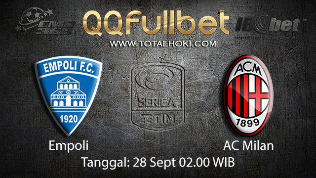 Prediksi Bola Jitu Empoli vs AC Milan 28 September 2018 ( Italian Serie A )