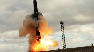 NUKLIR:Bocorkan Kekuatan 'Satan II', Rusia Siap Perang Nuklir