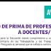 LISTA DE ABONO DE PRIMA DE PROFESIONALIZACIÓN A DOCENTES/ OCTUBRE 2016
