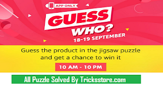 Amazon app Guess Who Puzzles All Answers Tricksstore