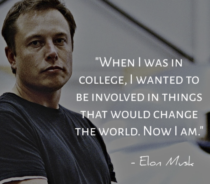 Success quotes of Elon Musk
