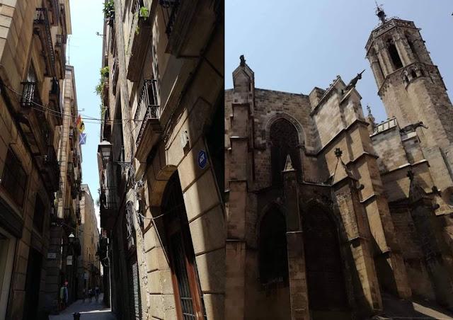 Barri Gòtic Dzielnica Gotycka Barcelona