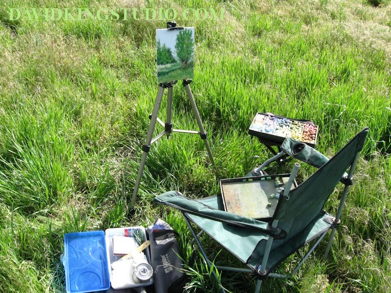 art painting pastel plein air gear easel box