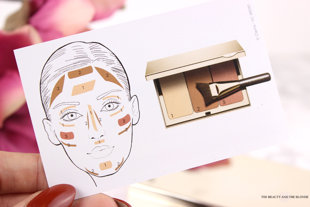 Clarins Contouring Perfection Palette Contour Visage Review Swatches Facechart How To