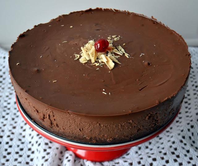 sernik-czekoladowy Sernik truflowy