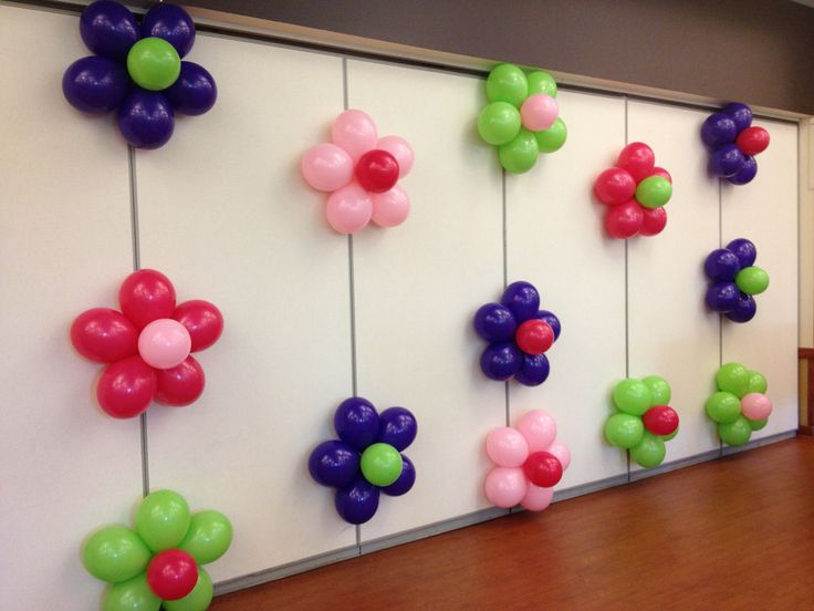 KM Paper Craft Birthday Decorations With Balloons