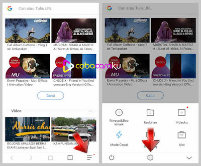 Cara mengatur daerah penyimpanan hasil download atau unduhan uc browser semoga eksklusif ter Agar Hasil Download Uc Browser Tersimpan di SD Card