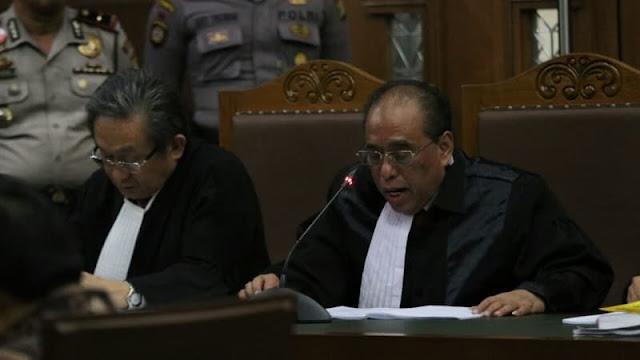 Pengacara Novanto Sebut Kerugian Negara Kasus e-KTP Tak Konsisten