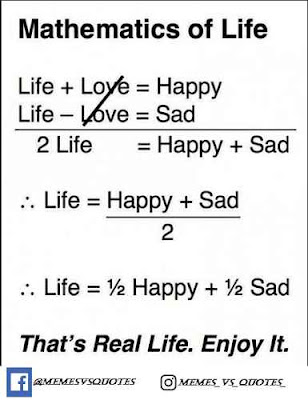Mathematics of real life