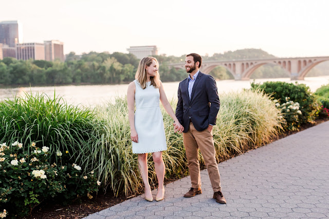 Georgetown Engagement Photos | Photos by Heather Ryan Photography