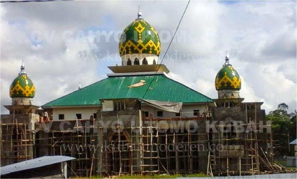 Kubah Masjid Modern Contoh Gambar