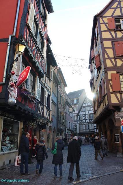 Alsàcia, França, Mercats de Nadal a Colmar