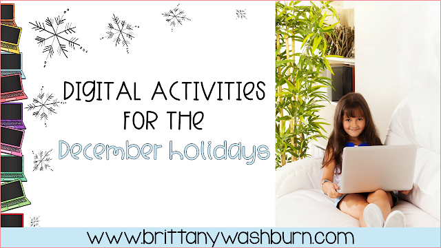Tis' the season! Whether you celebrate Christmas, Hanukkah, or Kwanzaa (or all three) in your classroom, there are digital activities that will get your students in the holiday spirit. Here are a few of our favorites to use in Language Arts, Math, Science, and Social Studies classrooms.
