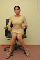 Actress Pooja Roshan Stills in Golden Short Dress at Box Movie Audio Launch  0049.JPG