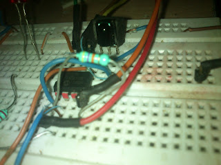 IR(infrared) Remote Control Relay Board with PIC 12F675 Microcontroller 24