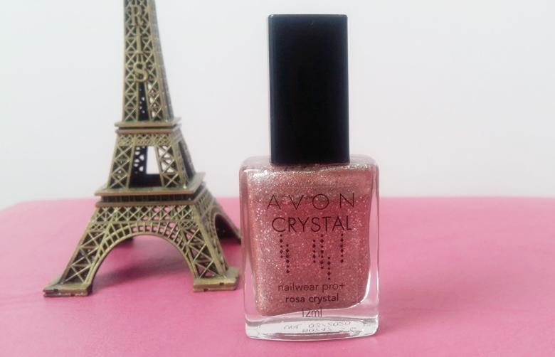 Unha da Semana: Rosa Crystal Avon