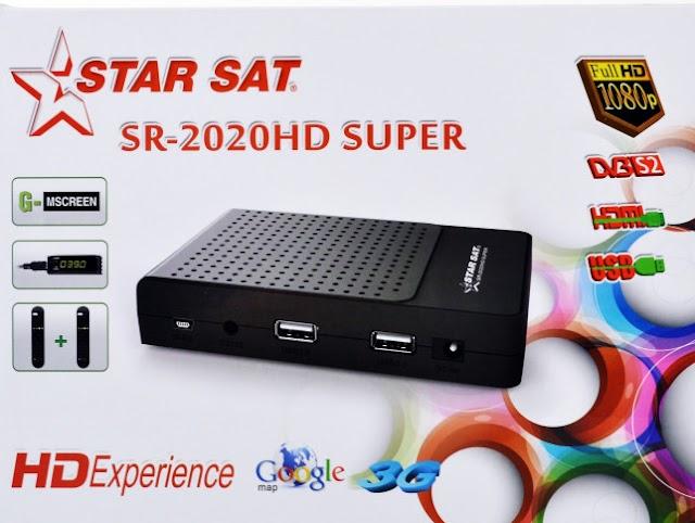 STARSAT SR-2020 HD SUPER NOVA ATUALIZAÇÃO V1.89 - 04-04-2016