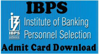 IBPS Admit Card