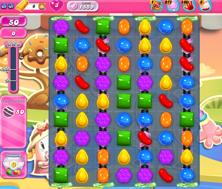 Candy Crush Saga 1559