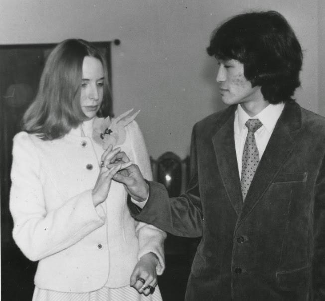 Свадьба Марианны и Виктора Цоя