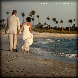 south seas wedding by the ocean