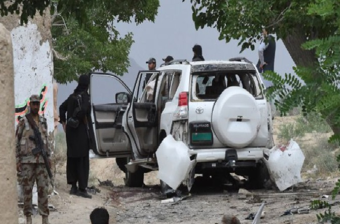 25 Killed In Suicide Bombing Targeting Deputy Senate Leader