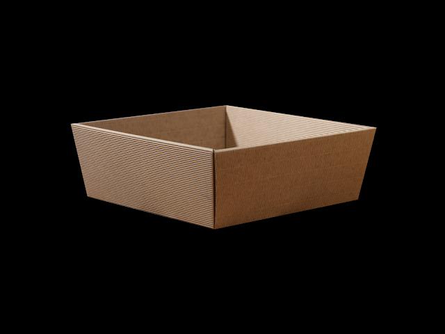 koszyk kartonowy na prezent