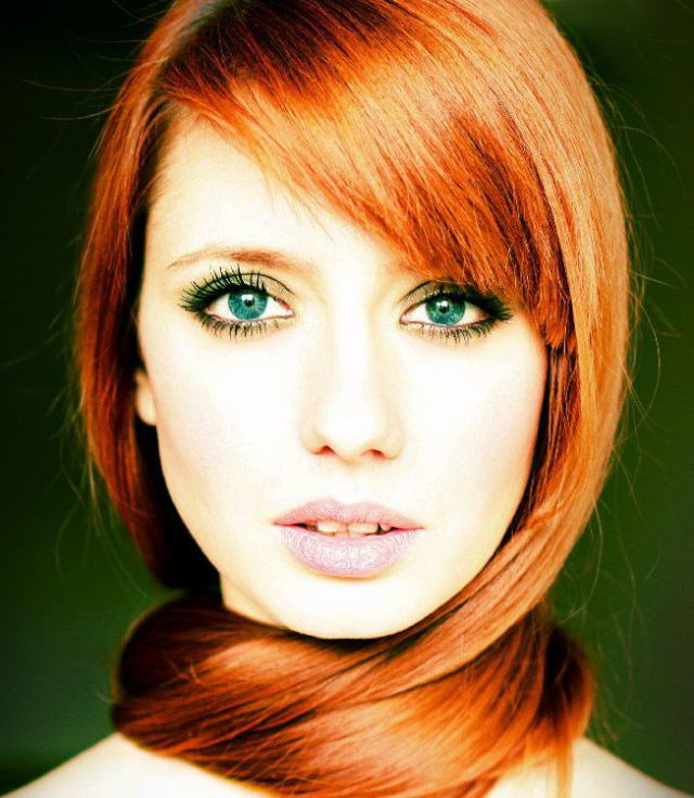 Pretty Girls With Natural Red Hair And Blue Eyes MissK's World...: Frid...