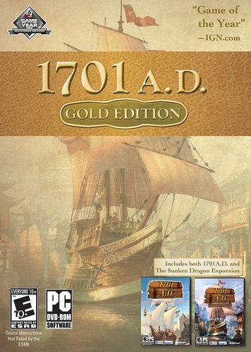 Anno 1701 A.D. - Gold Edition