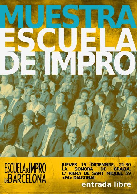 Impro 2016 diciembre Barcelona