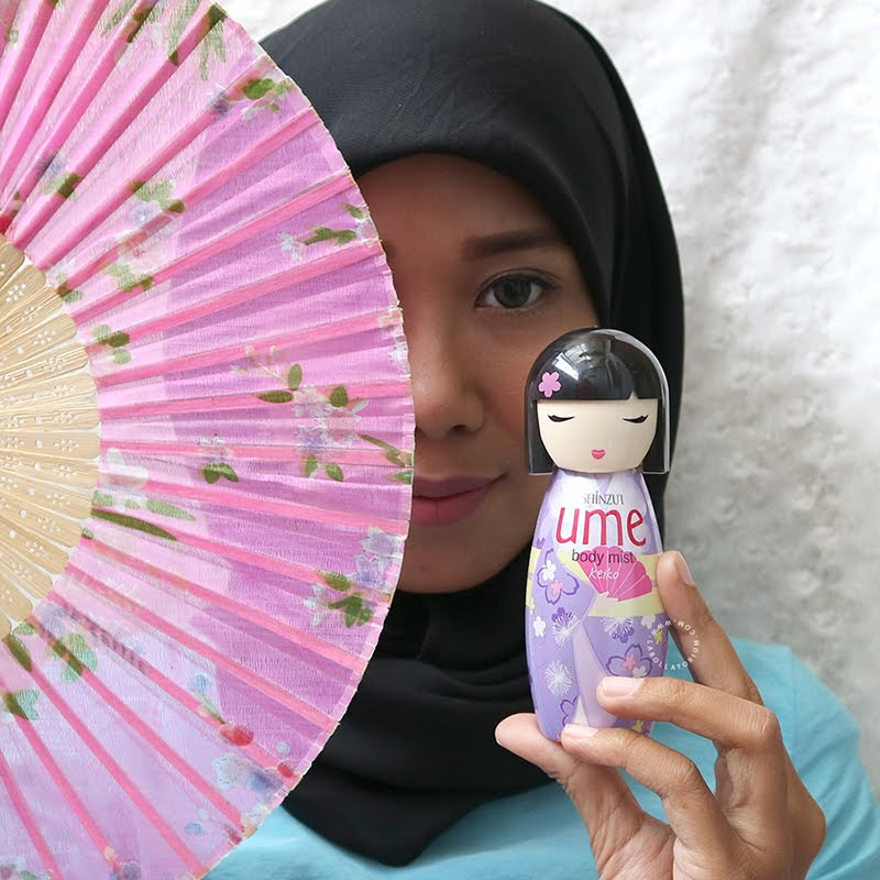 Shinzu'i Ume Body Mist Review Rahasia Fresh dan PD Sepanjang Hari