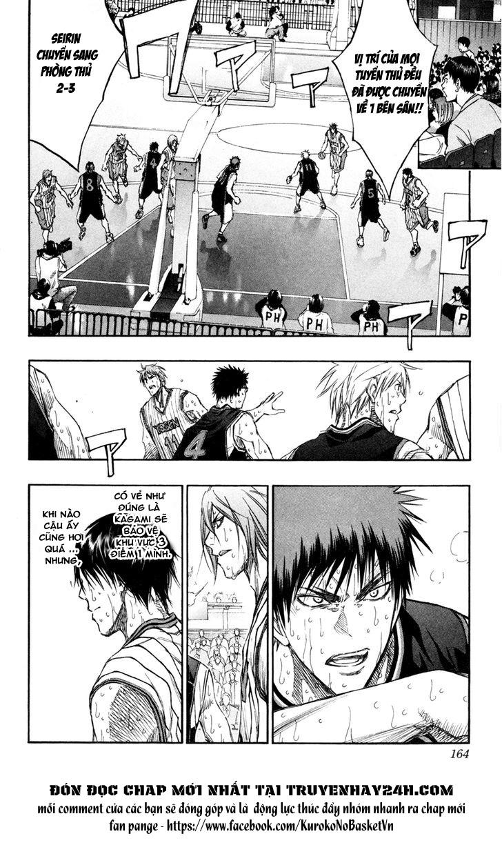 Kuroko No Basket chap 161 trang 16