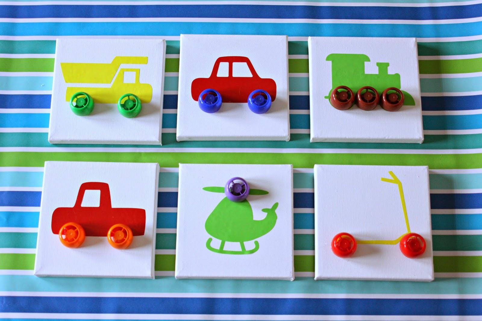 Our Pinteresting Family Transportation Wall Art